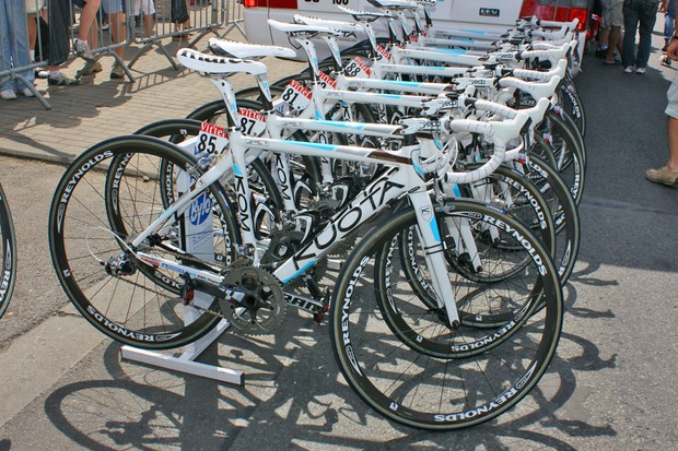 ag2r-La Mondiale went with their usual Kuota KOM machines for Stage 3.