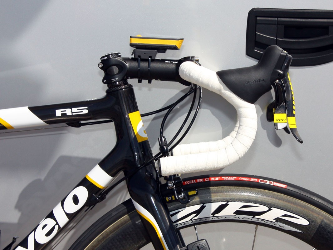 Cervélo engineer Richard Matthews developed a new 1-3/8in lower headset standard in co-operation with Cane Creek