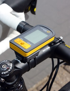 Sastre is using CycleOps' latest Joule 2.0 computer