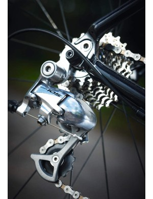 The Boardman's Shimano 105 rear mech upgrade is great value at this price