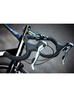 Deep drop bars give you plenty of room to move your hands backwards