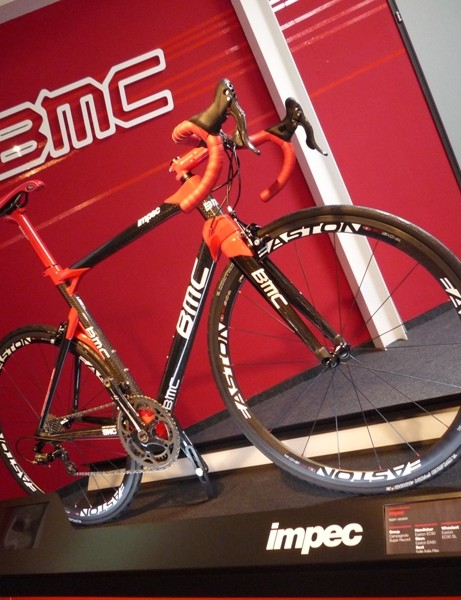 The Impec is BMC's top-tier road bike for 2011