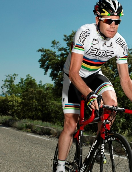 Cadel Evans will compete aboard the BMC Impec this year