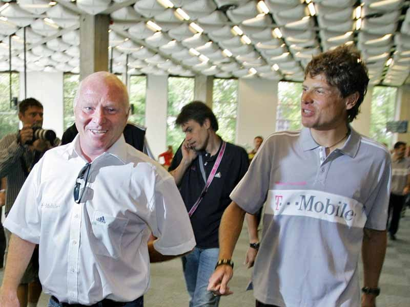 Rudy Pevenage and Jan Ullrich