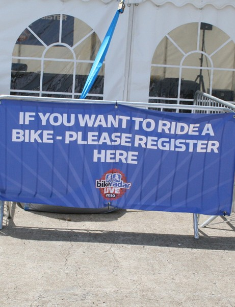Visitors will have the chance to demo the latest bikes