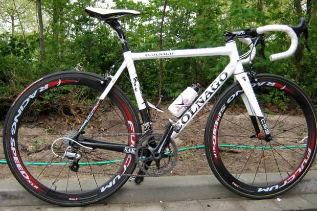 The Colnago C59, as seen at the Giro d'Italia