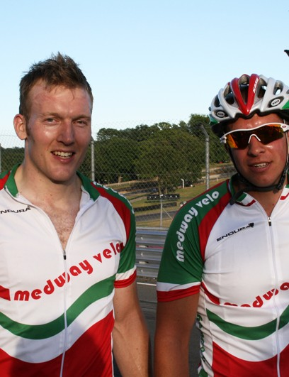 Cat 3 winners Steve Smith and Karl Strugnell