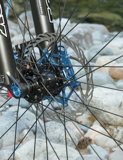 The Anthem X 29 0 will feature DT Swiss hubs and spokes laced to a Giant branded rim