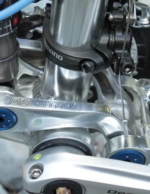 Giant's 2011 Aluxx models feature press-fit 92mm bottom bracket shells