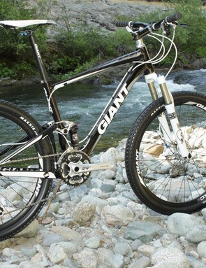Giant's 4in travel cross-country racer, Anthem X