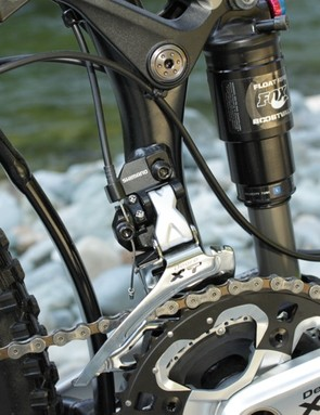In addition to the PowerCore, MegaDrive and OverDrive features, Reign gets a direct mount front derailleur