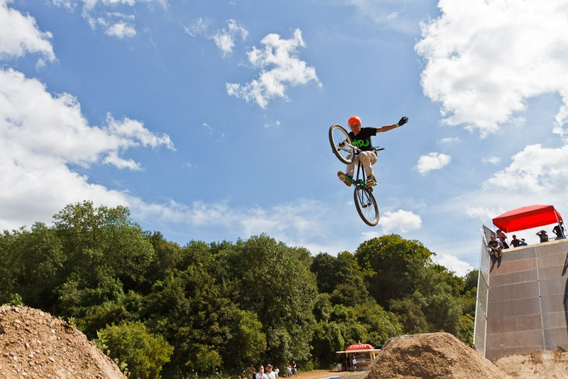 Daryl Brown in the MBUK Dirt Jump Invitational