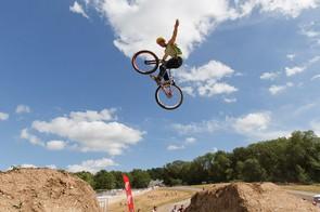 Sam Pilgrim soared to the win in this year's MBUK Dirt Jump Invitational