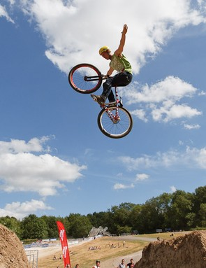 Sam Pilgrim soared to the win in this year's MBUK Dirt Jump Invitational