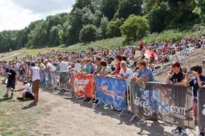 Crowd at the MBUK Dirt Jump Invitational