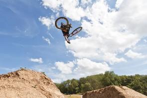 Sam Reynolds in the MBUK Dirt Jump Invitational