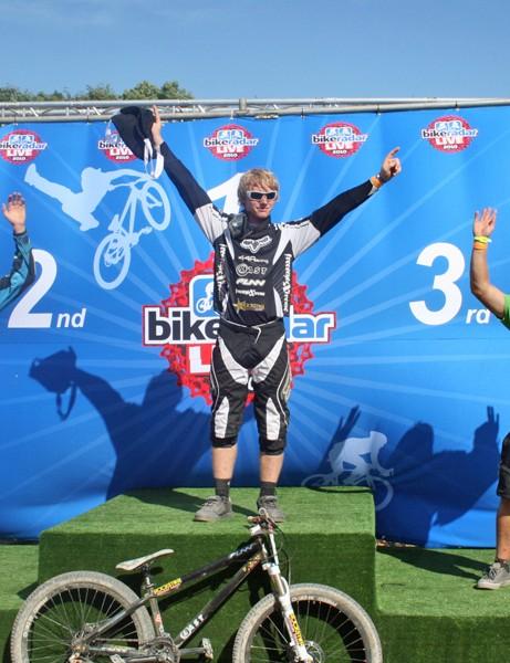 Senior podium (L-R): Pete Warner, Jake Ward, Russ Parsons