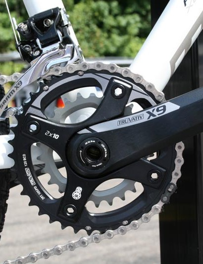 Whyte 19 uses 2x10 gearing from SRAM