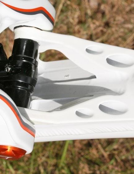 Whyte T-120 downtube detail