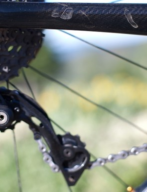 Shimano's XTR springs are stiff in M980 offering excellent chain management, according to those already racing it