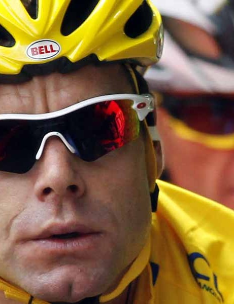 Cadel Evans spent just one stage in yellow after he cracked in stage 9