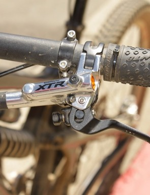Shimano's new XTR Trail brake lever