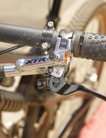 Shimano's new XTR Trail brake lever