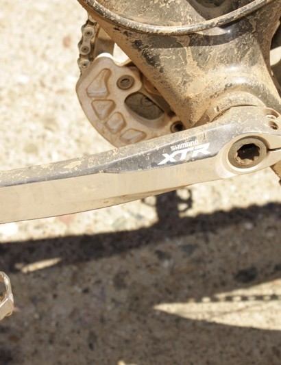 The new M980 XTR non-drive crankarm