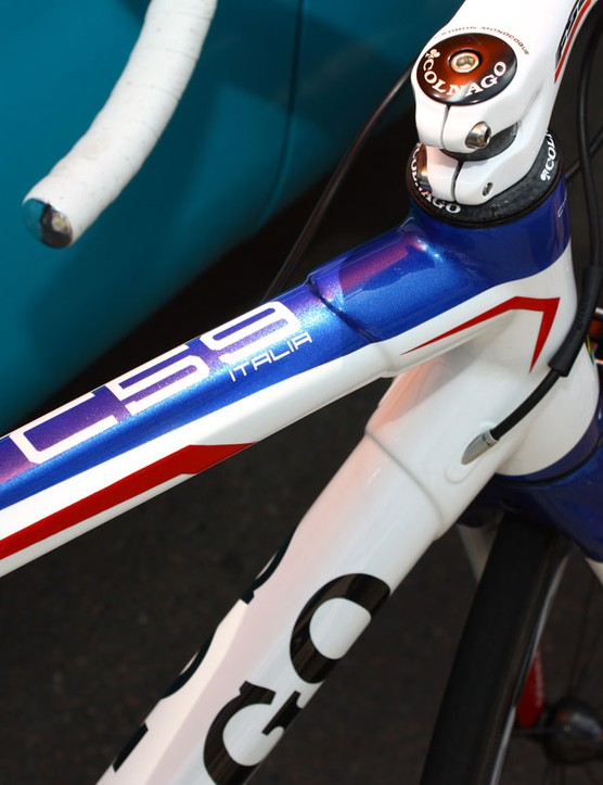 Colnago continue to stick with lugged construction on their top carbon models