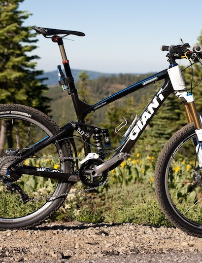 Adam Craig's 2010 Giant Trance X Advanced SL in its Downieville dress