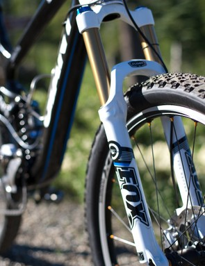 Fox's 2011 Float 32 RLC 140mm fork with Kashima Coating