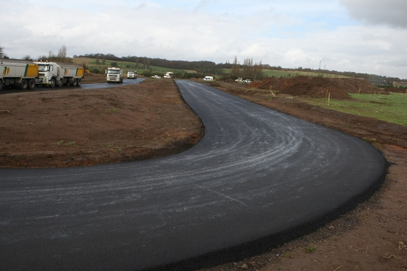 The closed road circuit at Stourport has just been completed