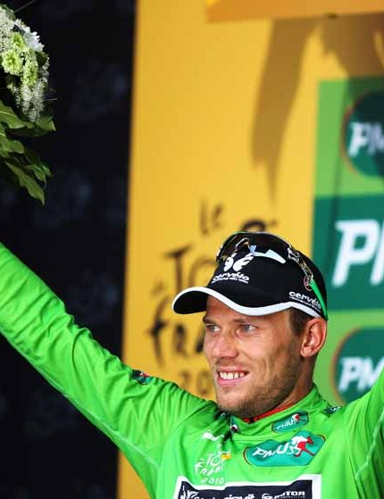 Thor Hushovd has his sights firmly set on the green