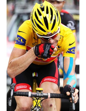 Cadel Evans hopes to finish the Tour