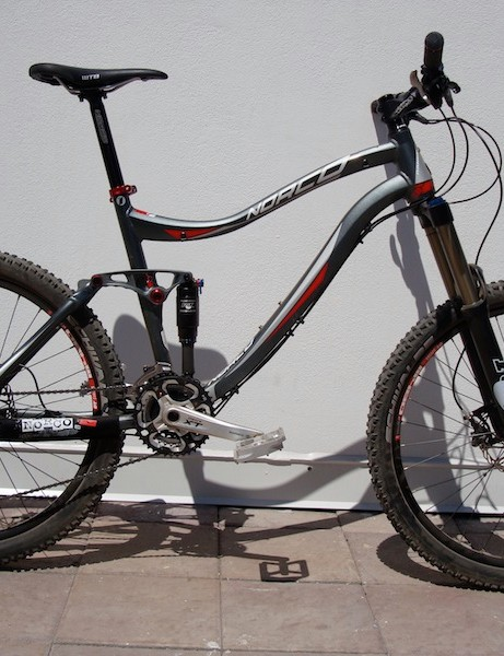 Norco unveiled three all-new mountain bike models at their 2011 launch; this is the Range 1