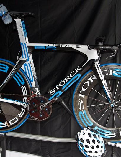 Storck's Aero2 time trial bike