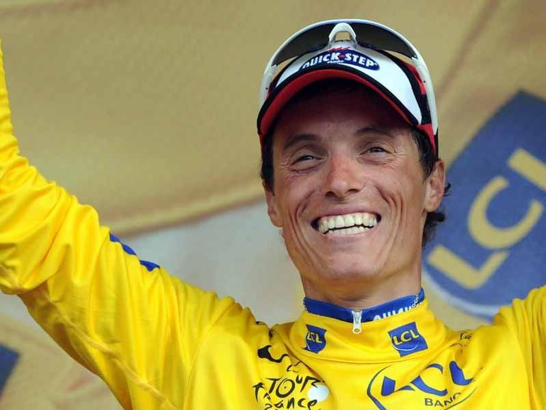 Sylvain Chavanel back in yellow