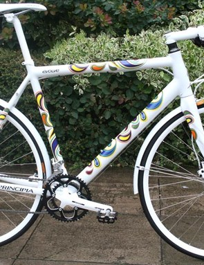 Principia Evolve urban bike. Bright!