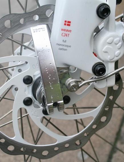 Bengal Helix disc brakes. Stop.