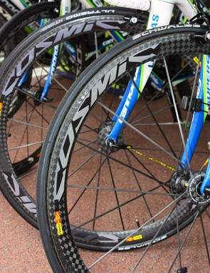 Mavic's Cosmic Carbon Ultimate wheels are impressively versatile, being extremely lightweight and moderately aero