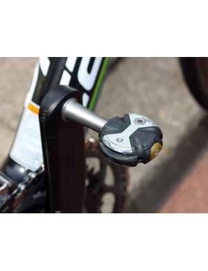 Speedplay provide Basso with their flagship Zero Nanogram pedal