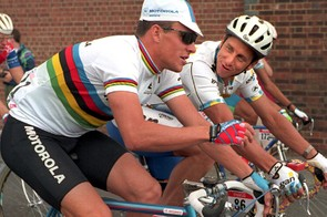 Armstrong and LeMond in 1994