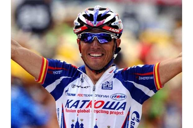 Joaquin Rodriguez (Katusha), stage 12 winner