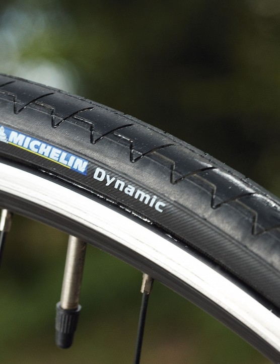 The wide Michelin Dynamic tyres really help to soak up road vibration