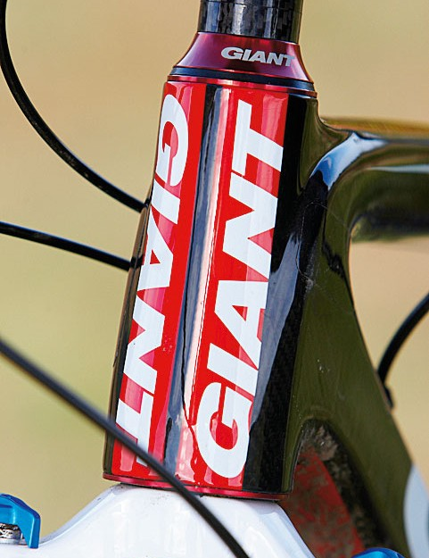 The OverDrive head tube is part of the maximum-stiffness jigsaw