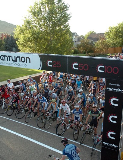 The Centurion peloton ready to roll
