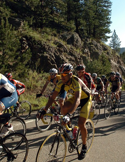 The Centurion event featured over 9,100ft of climbing