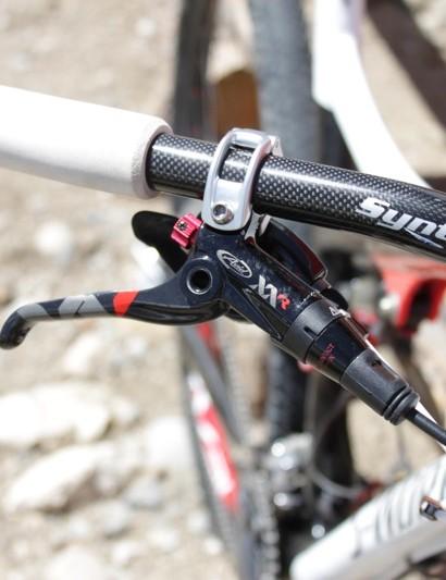 Avid's custom-for-Specialized XX R brake lever