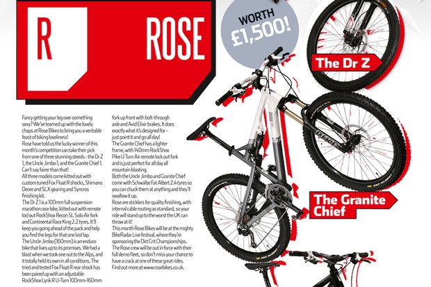 Win a Rose Bike now!