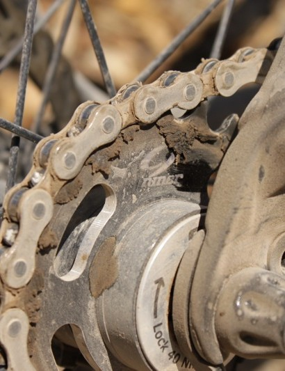 Niner's 21-tooth single-speed cog
